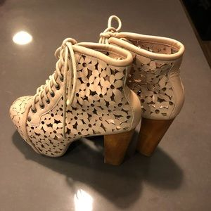 Jeffrey Campbell Flower Lace Lita Heel